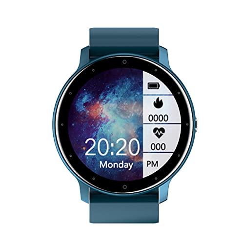 Reloj Inteligente Para Mujeres, Rastreador de Actividad a Prueba de Agua IP68 Con Pantalla Táctil a Color Monitor de Frecuencia Cardíaca Podómetro Monitor de Sueño, Para IOS9.0 Y Android5.0 Arriba
