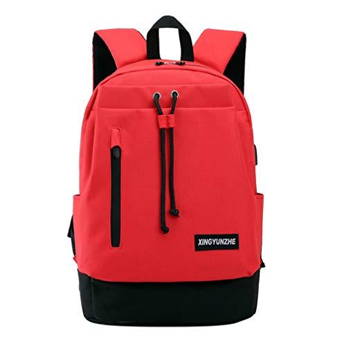 LILICAT Unisex Tagesrucksack Outdoor Strapazierfähiger Reiserucksack mit Laptop Rucksack Freizeit Rucksäcke Klassische Sporttaschen Handgepäck Rucksack