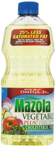 Mazola Vegetable Oil, 40 fl oz