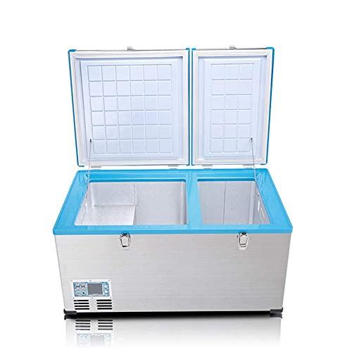 Refrigerador del Coche 80L, Refrigeración Cero congelada del compresor de la refrigeración del congelador de Doble Uso del Coche
