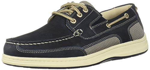 Dockers Men's Beacon Boat Shoe, Navy, 10 M US