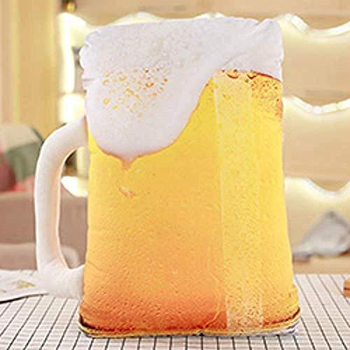 EREL Plüschspielzeug Snack Kissen Kuchen Kuchen Bier Zauberstab Kreative Kaffee Mädchen Jungen Sofa Row dedu