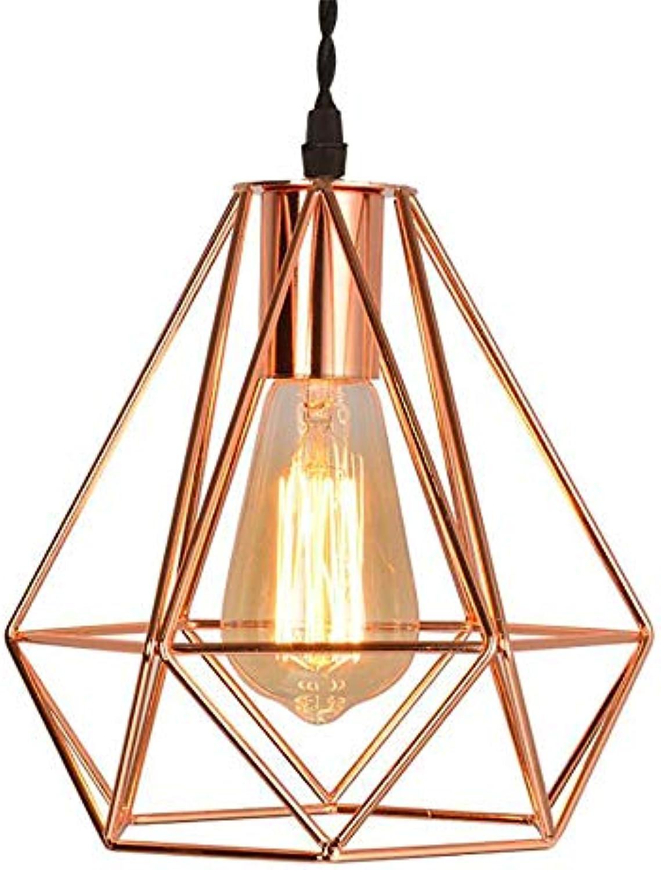 BLife Nordic Pendelleuchte, Moderne minimalistische schmiedeeiserne Gold Kronleuchter geometrische Hohl Kronleuchter für Schlafzimmer Wohnzimmer Lounge