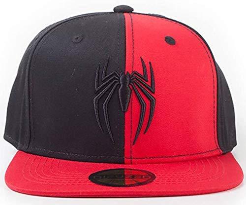 for-collectors-only Spider-Man - Gorra 3D con Emboidery y Logotipo de Marvel Comics
