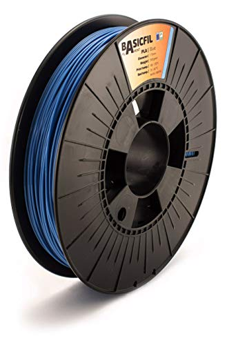 BASICFIL PLA  1.75mm, 500 gr, 3D printing filament , Blue