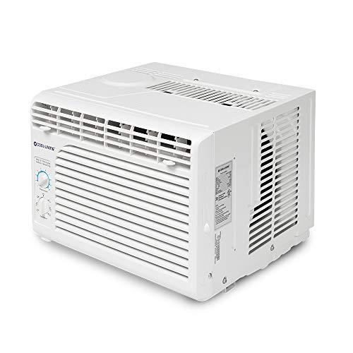 Cool Living 5,000 BTU 9.7 EER 115V Window Mount Room Air Conditioner AC Unit