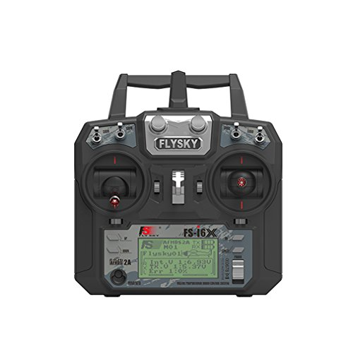 Flysky FS-i6X RC Transmitter TX 2.4GHz 6-10CH Channel Transmitter Mode 2 (NO Receiver)