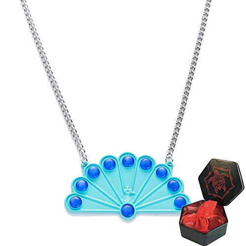 Peacock Ladybug Necklace from Ladybug and Cat Noir Cosplay Costume