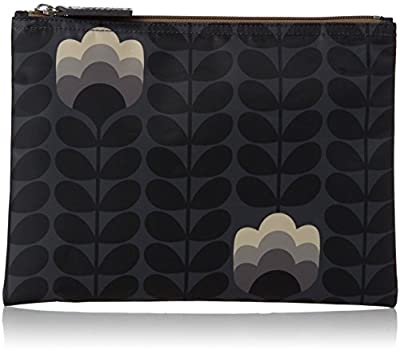 Orla Kiely Buttercup Stem Printed Large Zip Pouch