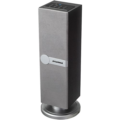 Review Of Sylvania SP269-Silver Bluetooth Floor Standing Tower Speaker