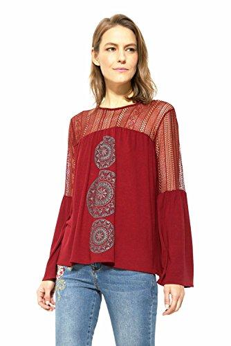camisa de mujer desigual
