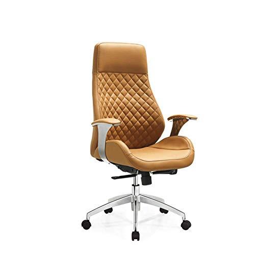 Silla de Oficina ejecutiva con Respaldo Alto, diseño ergonómico, Altura del Asiento Ajustable, Respaldo Giratorio Giratorio de 360 °