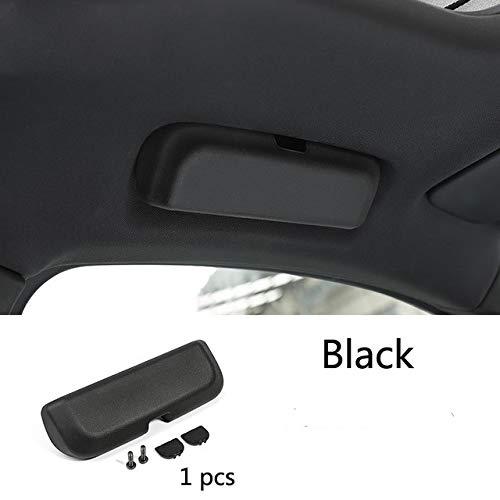 HDCF Sonnenbrillen Aufbewahrungsbox Sunglass Brillen Halter Box Fall für Macan Cayenne Panamera Auto Styling Auto Zubehör -Macan Schwarz