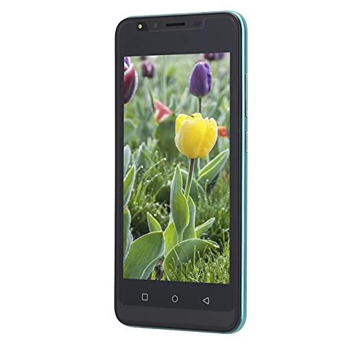 Gaeirt Smartphone Dual SIM, teléfono móvil con Pantalla de 5.0 Pulgadas, Pantalla Grande de 5.0 Pulgadas para Jugar para Trabajadores de Oficina para Gastos de niños(Green, Pisa Leaning Tower Type)