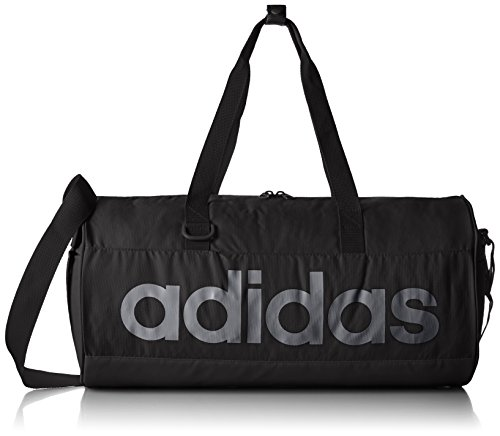adidas Sport/Trainings-tasche Perforated Team Bag Small, Black/Night Met F13, 25 x 25 x 50 cm, 31 Liter