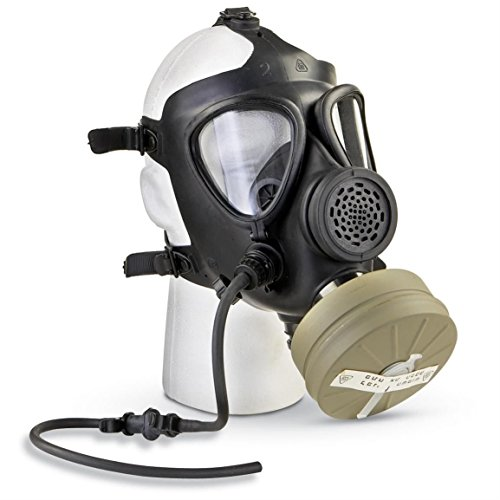 M15 Rubber Respirator Mask NBC Protection For Industrial Use, Chemical Handling, Painting, Welding,...