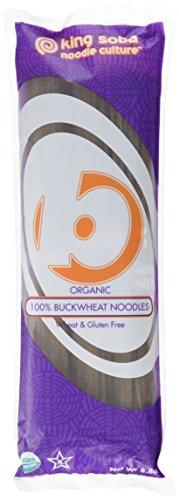 King Soba 6-PACK Gluten Free & Organic 100% Buckwheat Pasta Noodles 8.8oz - 3 Servings Per Pack