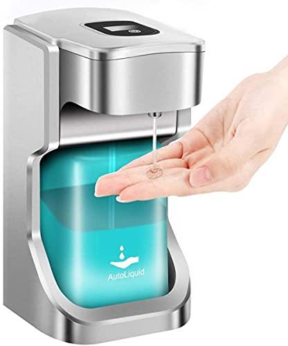 Dispensador automático de jabón, dispensador de jabón de gel de...