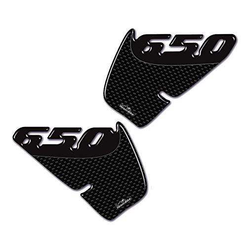 Protecciones Lateral Adhesivos 3D Compatible con Kawasaki Er-6n 2007-2011