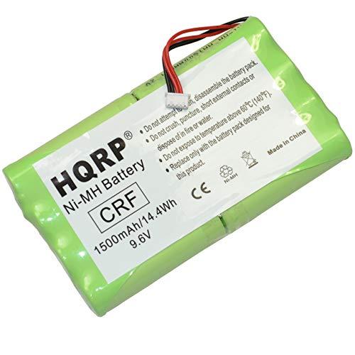 HQRP Batteria per YAESU FNB-72 / FNB-72x / FNB-72xe / FNB-72xh / FNB-72xx / FNB-85 / NC-72B / FT-817 / FT-817ND Talkie-Walkie + HQRP Sottobicchiere