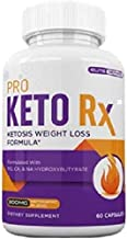 PRO Keto RX 60 Capsules Weight Loss Fat Burn Formula – 1 Month Supply Estimated Price : £ 44,95