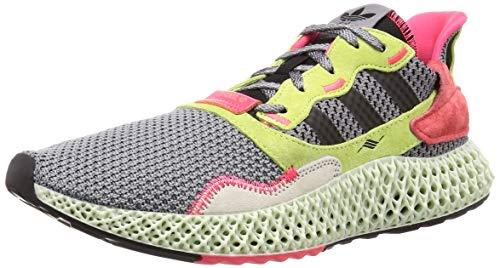 Adidas ZX 4000 4D, Zapatillas de Deporte Hombre, Multicolor (Gritre/Negbás/Amalre 000), 43 1/3 EU