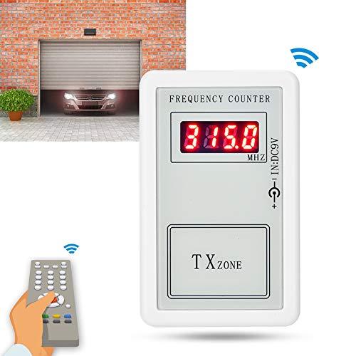 250-450 MHz handheld frequentieteller Draadloze afstandsbediening Digitale frequentietesters voor garagedeuren; afstandsbediening, toegangsbeveiliging.