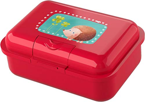 HABA Brotdose in rot mit Igel Glück
