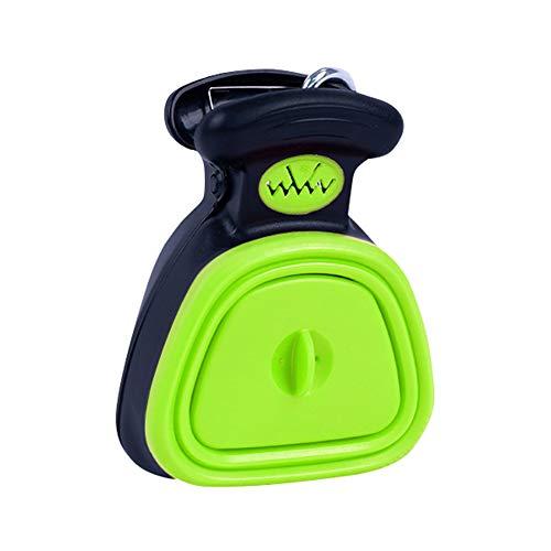 Keepbest Exkreta-Reinigungswerkzeug für Haustiere, faltbar, zum Reinigen von Kotschaufeln, grün, S