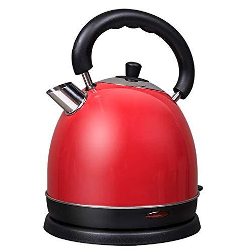Wyxy Bouilloires Bouilloire électrique, Bouilloire en Acier Inoxydable de 2,0 litres, ébullition Rapide et Facile à Nettoyer, 1800 W Rapide (Couleur: Rouge)