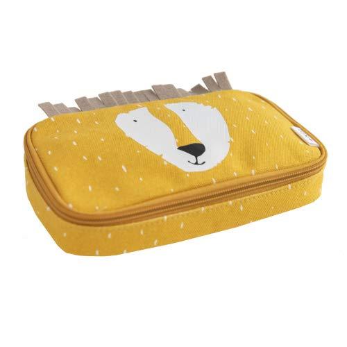 Trixie Baby Stiftetasche Federmäppchen Rechteckig Löwe Gelb