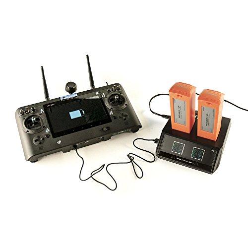 DROHNENSTORE24.DE ...DER DROHNEN-GURU Yuneec DY5 Dual Ladegerät + gratis DS24 Universal 4 Punkt Gurt - Sendergurt