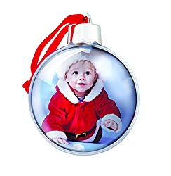 baby's first christmas ornament ball