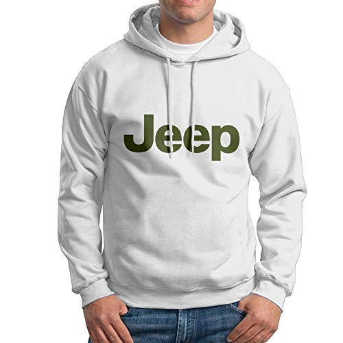 Je-Ep Logo Grüne Männer Pullover Sweatshirt Loose Hoodie