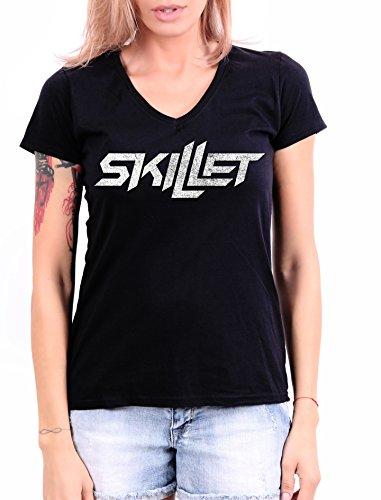 Skillet Damen T-Shirt Schwarz schwarz Gr. Medium, schwarz