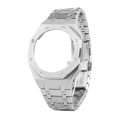 GA2100 第三世代 ステンレス鋼製 腕時計 時計 ベゼル バンド 腕時計交換用 アクセサリー に対応 G-Shock カシオ GA-2100/GA-2110 に対応 腕時計アクセサリ