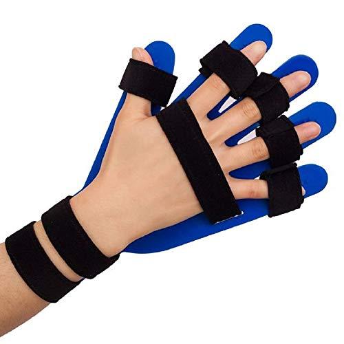 Tree Dispositivo per la separazione del Piatto di allungamento del dito, attrezzatura per la riabilitazione del tratto, supporto per Dispositivo Medico per ortesi da polso, BLU