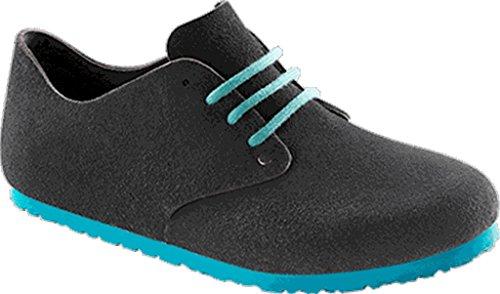 Birkenstock Schuhe ''Maine'' aus echt Leder in Samtgrau 42.0 EU R