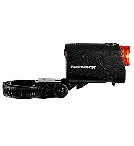 Trelock Batterierücklicht LS 720, Black, 10 x 5 x 3 cm