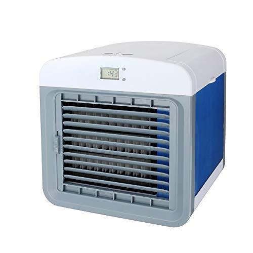 TuToy Persoonlijke Air Conditioner Koeler Met Luchtbevochtiger Usb Mini Draagbare Koeling Ventilator 3 Snelheid