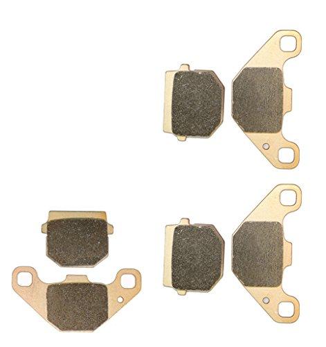 Sintered HH Disc Bremsbelagsatz Set fit for GOES ATV Bike G350 G350S G 350 cc 350cc S Quad 2008 2009 2010 2011 2012 2013 2014 08 09 10 11 12 13 14 6 Pads