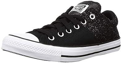 Converse Unisex Adult White/Black Sneakers-4 UK (36 EU) (566312C)