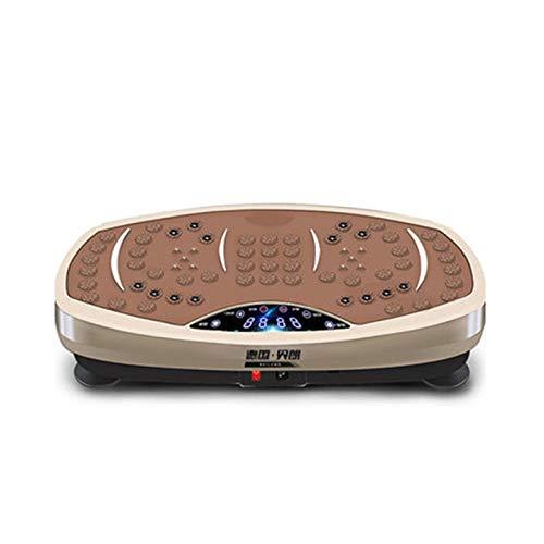 CHENXU Vibrationsplatte Slim und rutschfest Home Vibrationsplatte Übungsmaschine Vibrationsplattform Gewichtsverlust, Formgebung Ganzkörperschwingungsmaschine