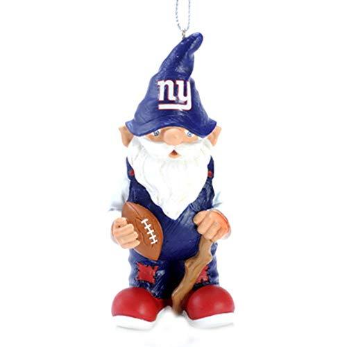 New York Giants Mini Gnome Ornament