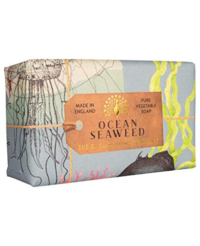 The English Soap Company, Ocean Seaweed Soap Bar, Anniversary Collection 200g