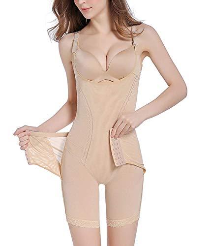 Tanga posparto para mujer en forma de S, pecho abierto, control de barriga, cintura alta, body sexy, fajas corporales
