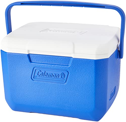 Coleman 2000036076 Nevera Rígida, Unisex Adulto, Azul, 4 L