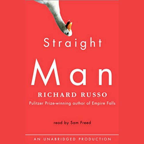 Straight Man audiobook cover art