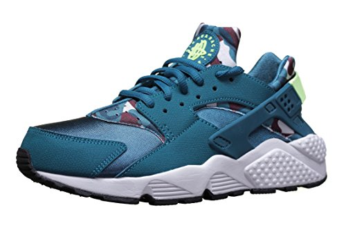 Nike Air Huarache Run Print Schuhe Sneaker Neu Grün, Teal Ghost Green, 36.5 EU / 3.5 UK / 6 US