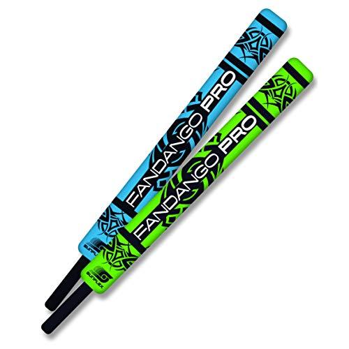 Sunflex Kids' Fandango Striker Sticks - Colorful Set of Foam Swords for Kids - Set of 2 Foam Dueling Sticks with Storage Drawstring Bag Included - Soft Neoprene Covering